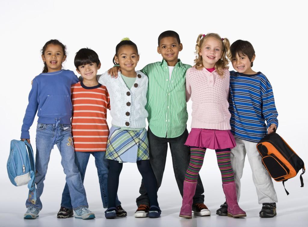 bambini e scuola multietniica