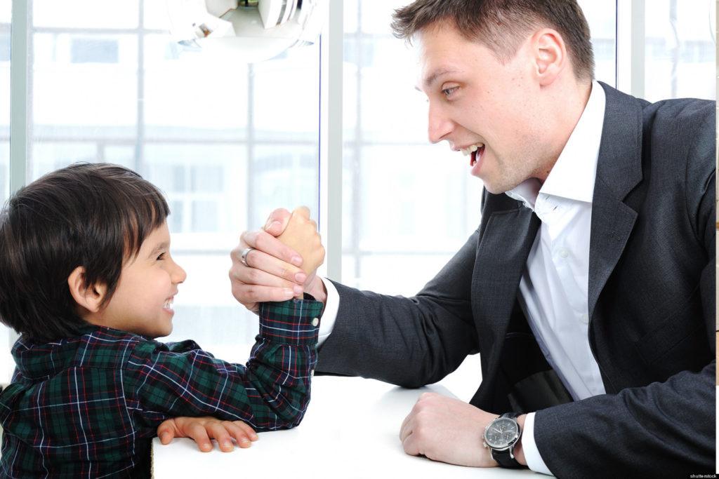 Padre contro figlio